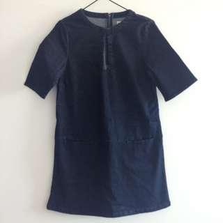 Asos Denim Dress Size 10