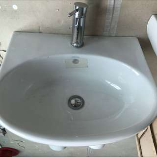 Toilet Wash Basin with Tap
