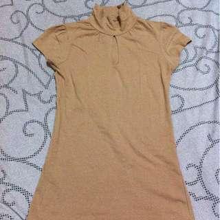 PETIT MONDE semi-turtle neck  top/blouse