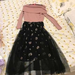 日本買回來的 黑紗裙