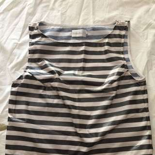 Shakuhachi Stripe Top