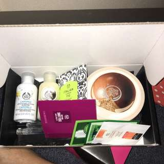 The Body Shop Package