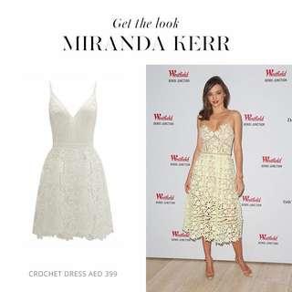 Miranda Kerr Lace Dress