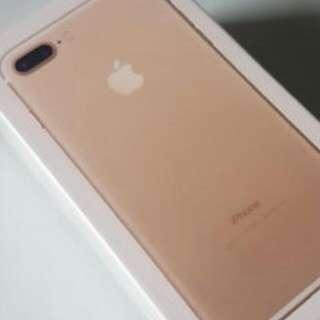 IPHONE 7 PLUS (Gold) - 128GB Unlocked Brand New In Box