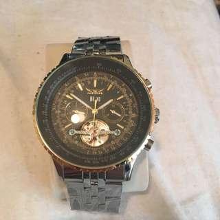 Men's Luxury Silver Watch