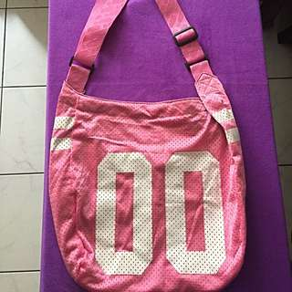 SR-spirit Ready Brand Pink Sporty Bag