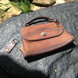 [REPRICE] Brown Handbag mcGuire Nicholas