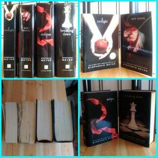 Free Shipping! Twilight Saga Stephenie Meyer 4 Books For 650