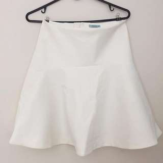 Kookai Cream Skirt