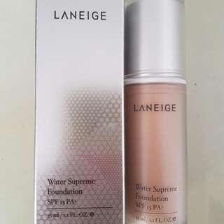 Laneige Water Supreme Foundation SPF 15 PA+