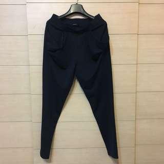 MOMA深藍色哈倫褲