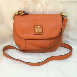 Tommy Hilfiger Orange Crossbody Bag