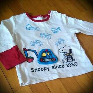 (孩童)史努比長袖上衣