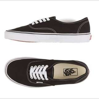 VANS B&W AUTHENTICS