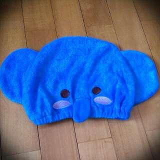 🚚 (全新)超可愛小象浴帽