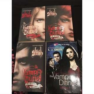 The Vampire Diaries 1-7