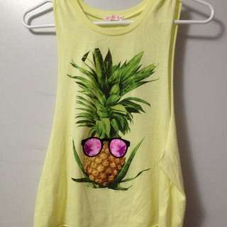 PINEAPPLE TANK FROM ARDENE