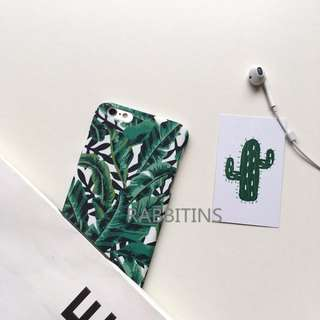 [PO] tropical leaves case