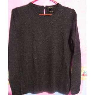Massimo dutti sweater wanita grey size S