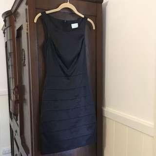 Satin Review Dress