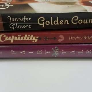 Preloved Books Set Of 3 Cheap Cebu