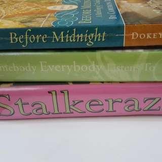 Preloved Books Set Of 3 Cebu Cheap