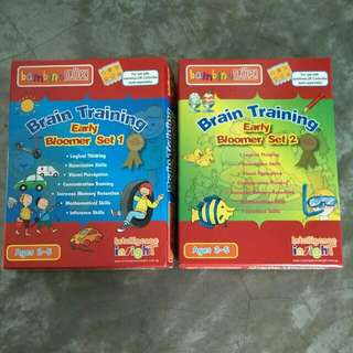 Brain Training - Early Bloomer Set 1 & 2