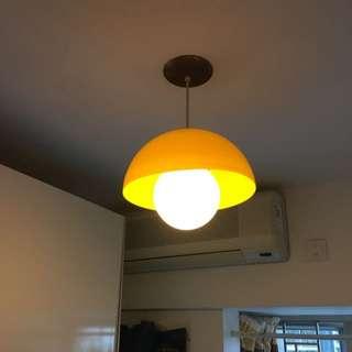黃色懷舊燈(罕有)