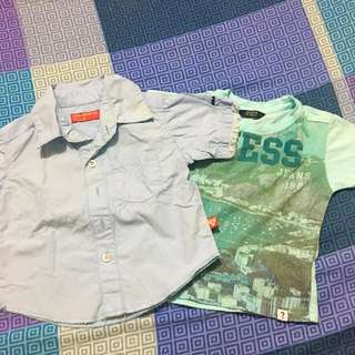 Guess Shirt And Polo