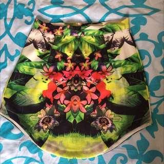 Ava Mid Waist Skirt