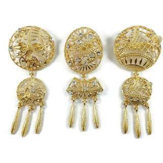 Bross Klip Turki Tameng Gold