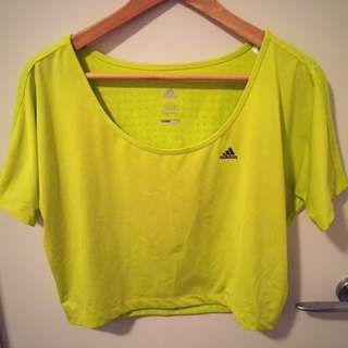 Adidas Climacool Cropped Top