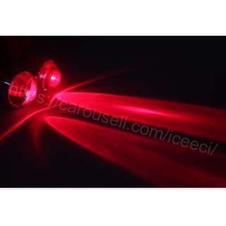 ( Restocked ) Pair of Devil fish eye, red led light ( ebike, motorcycle, bicycle, mountain bike, escooter, electric scooter , diy, mod )