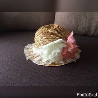 Kids Girl Beach Hat
