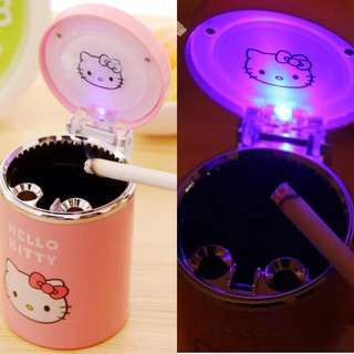 Hello Kitty Ashtray w/ Light