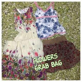 FLOWERS Grab Bag (dress, Top, Skirt)