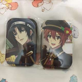 Idolish7 Namco Limited Prize Badges