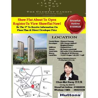 New Condo Launch (TCC) The Clement Canopy @ Clementi Avenue 1