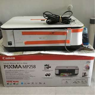 Printer & Scanner Canon PIXMA MP258