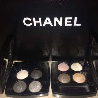 Repriced Chanel Eyeshadow Quads