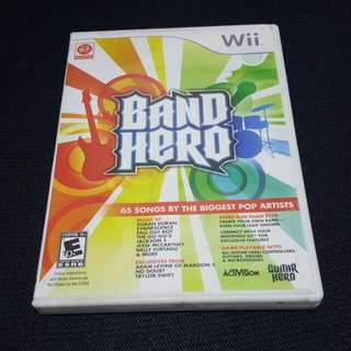 Band Hero for Wii