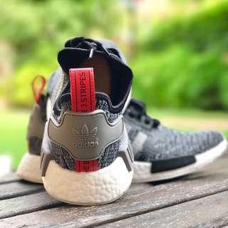 Adidas NMD_R1 Dark Grey Glitch