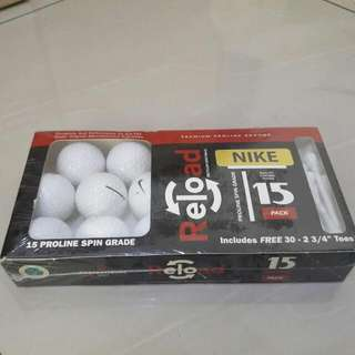 Nike Golf Balls With Tees
