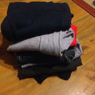Pile Of Mixed Boys Clothes