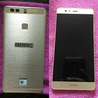 Huawei P9 Plus, complete, negotiable, gold