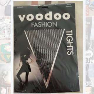 NEW Med/Tall VOODOO Fishnet Stockings