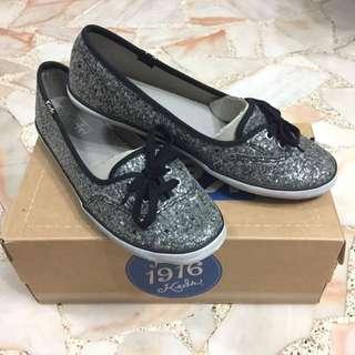 BNIB KEDS Teacup Glitter black Shoes