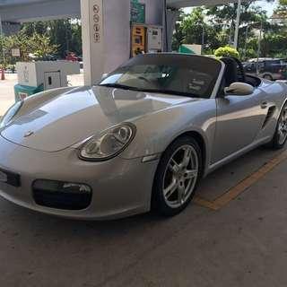 Porsche Boxster For Rent