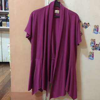 Kashieca Short Sleeved Cardigan