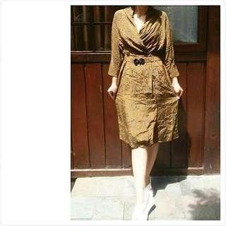 dress batik vintage